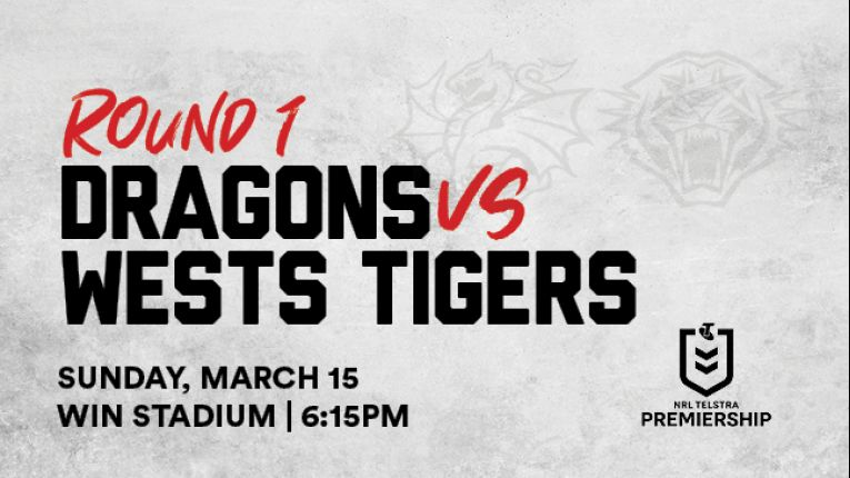 Dragons v Wests Tigers