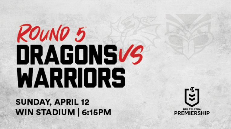 Dragons v Warriors